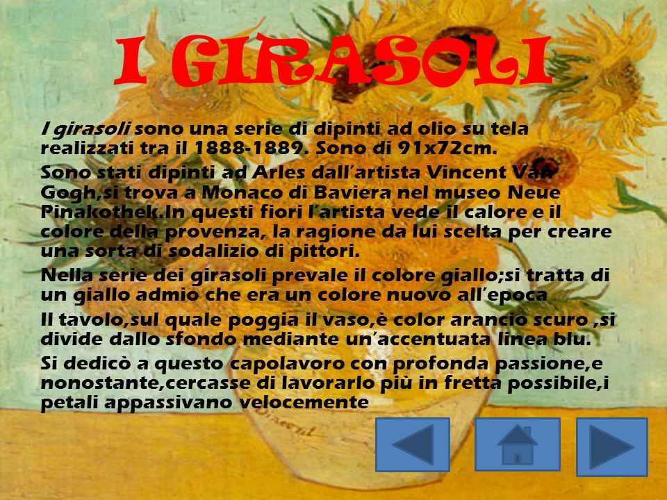 I GIRASOLI
