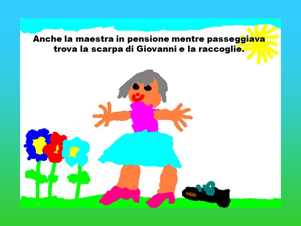 Anche la maestra in pensione mentre passeggiava