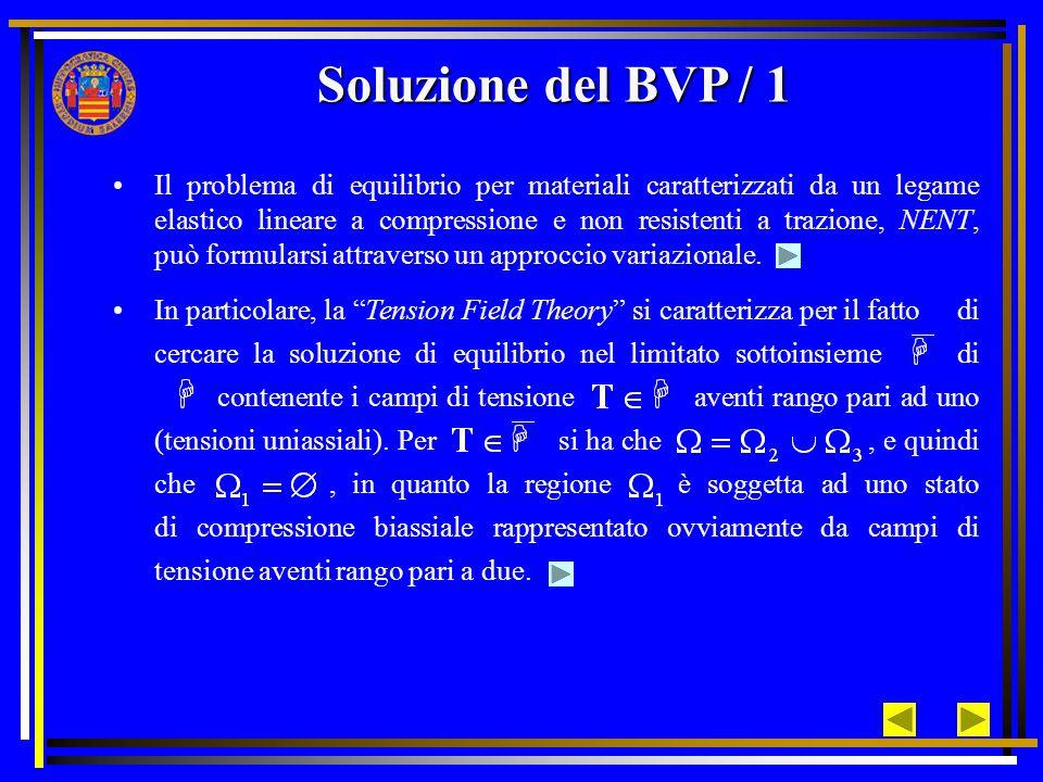 Soluzione del BVP / 1