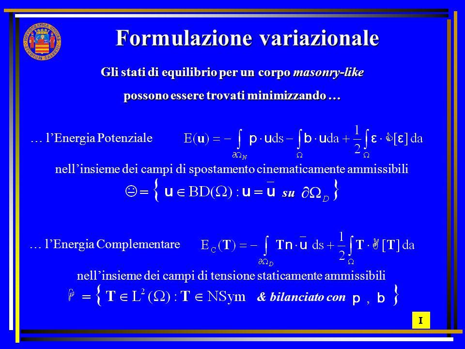 Formulazione variazionale