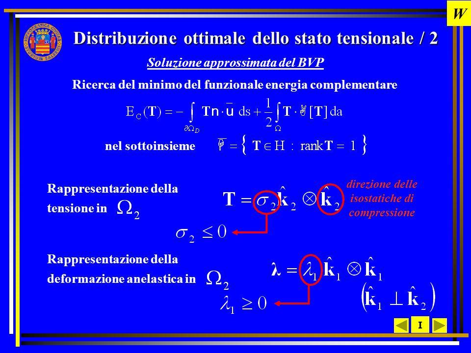 Distribuzione ottimale dello stato tensionale / 2