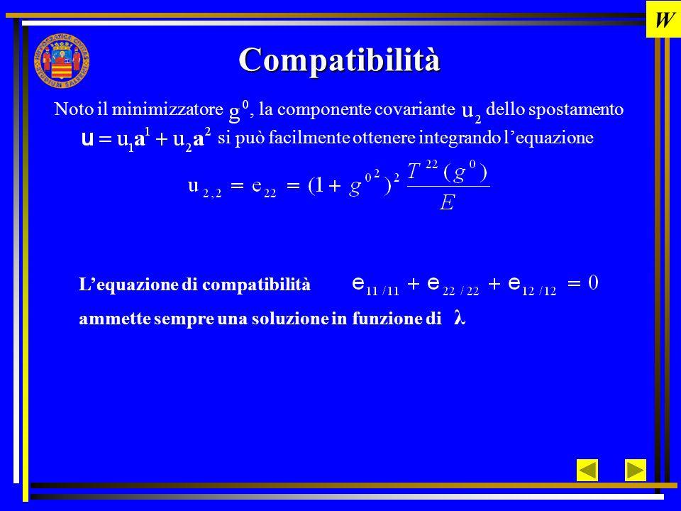 W Compatibilità.