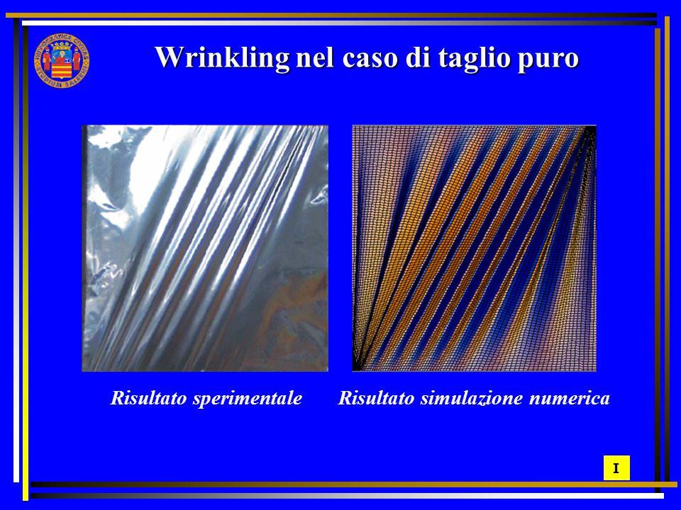 Wrinkling nel caso di taglio puro