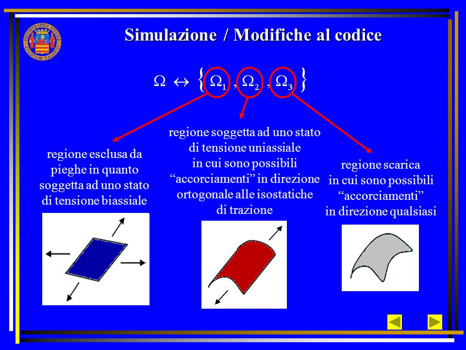 Simulazione / Modifiche al codice