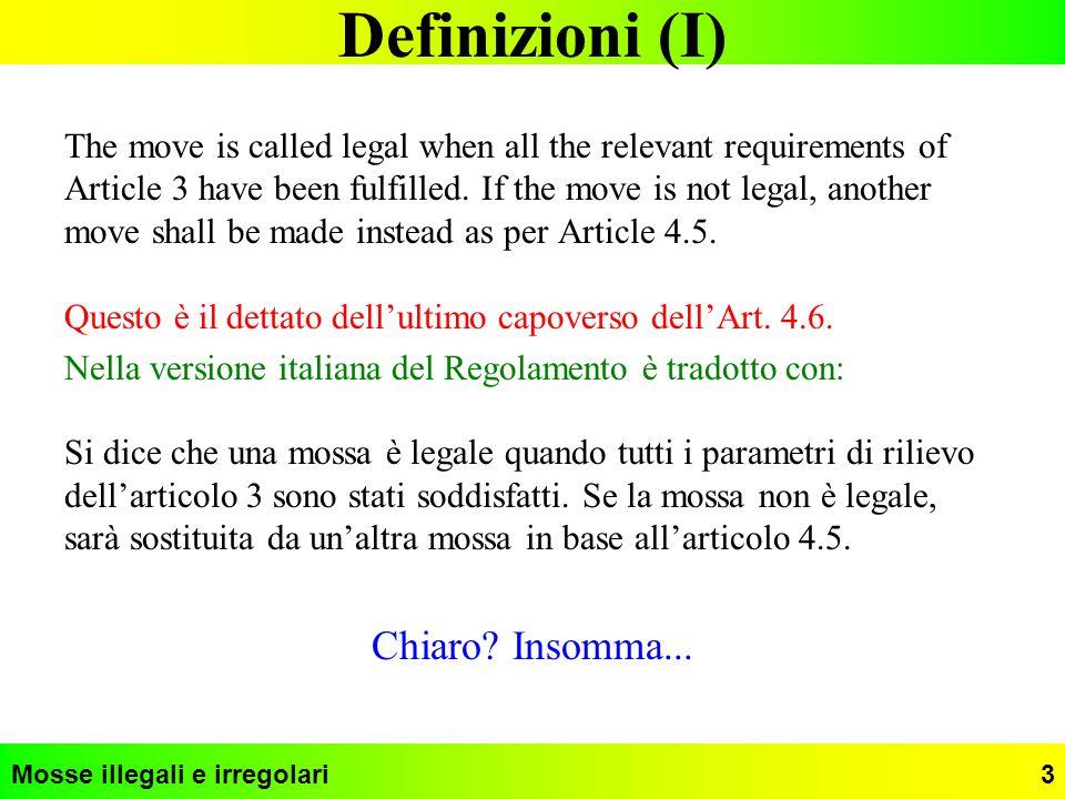 Definizioni (I) Chiaro Insomma...