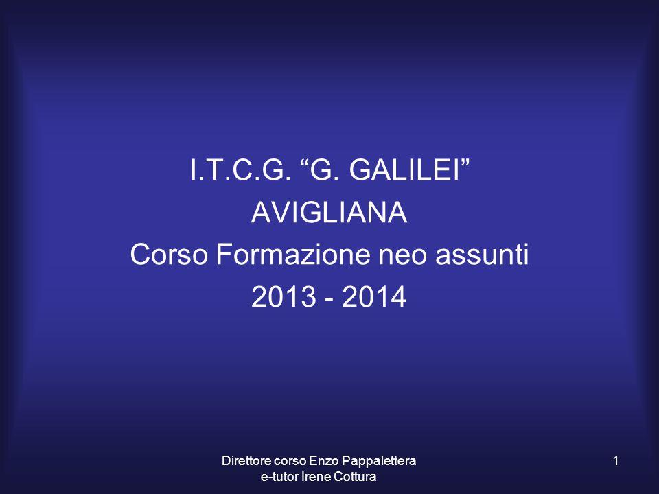 Corso Formazione neo assunti 2013 - 2014