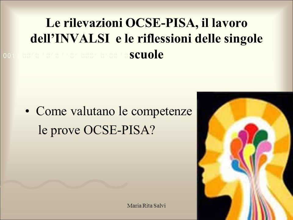 Come valutano le competenze le prove OCSE-PISA