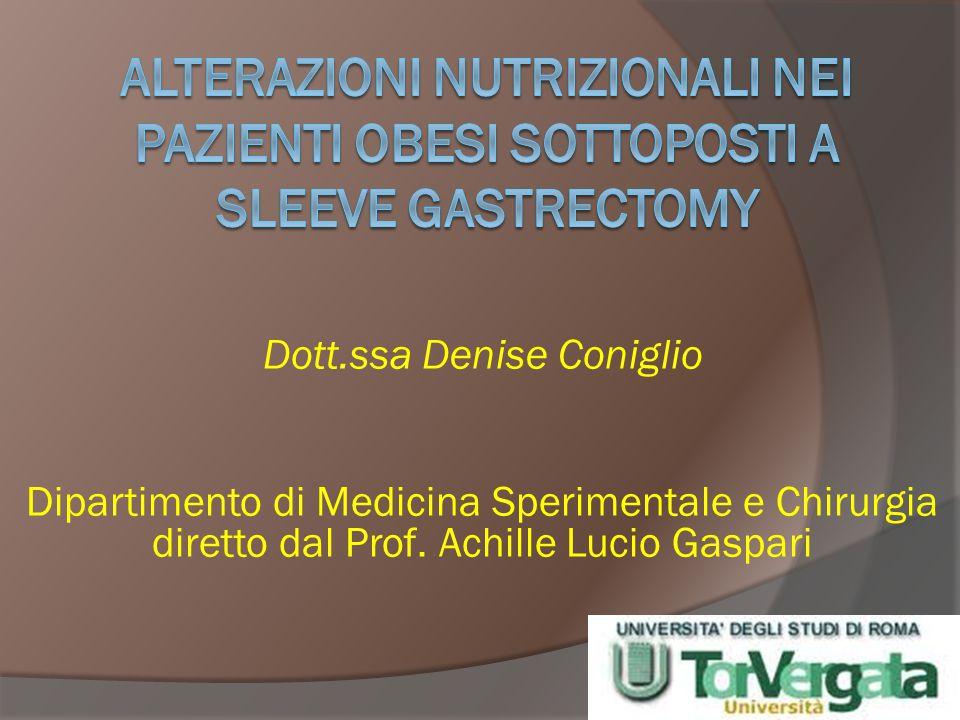 Dott.ssa Denise Coniglio