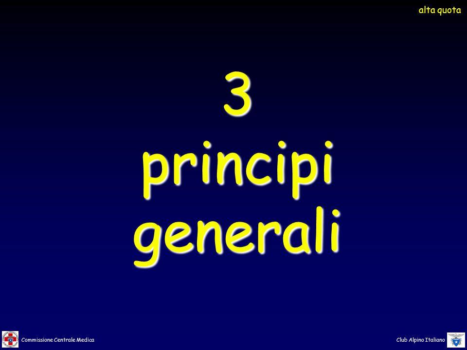 alta quota 3 principi generali