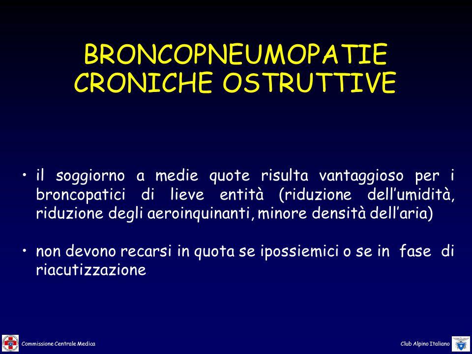 BRONCOPNEUMOPATIE CRONICHE OSTRUTTIVE