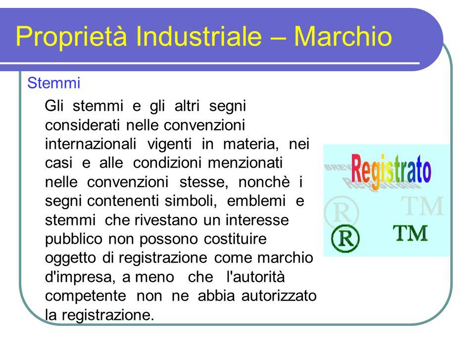 Proprietà Industriale – Marchio