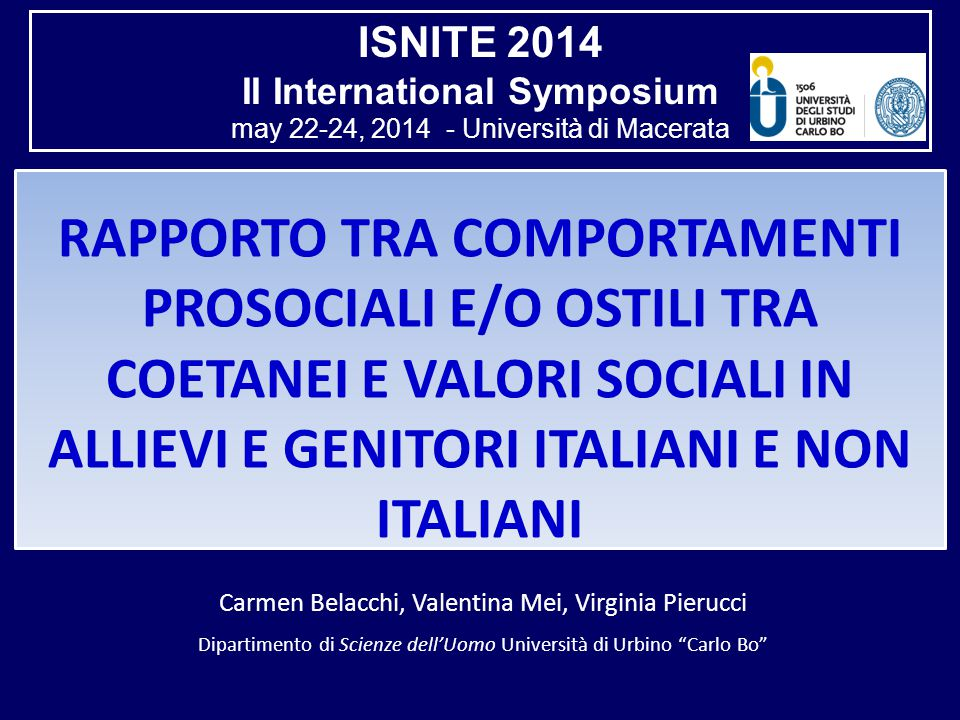 II International Symposium