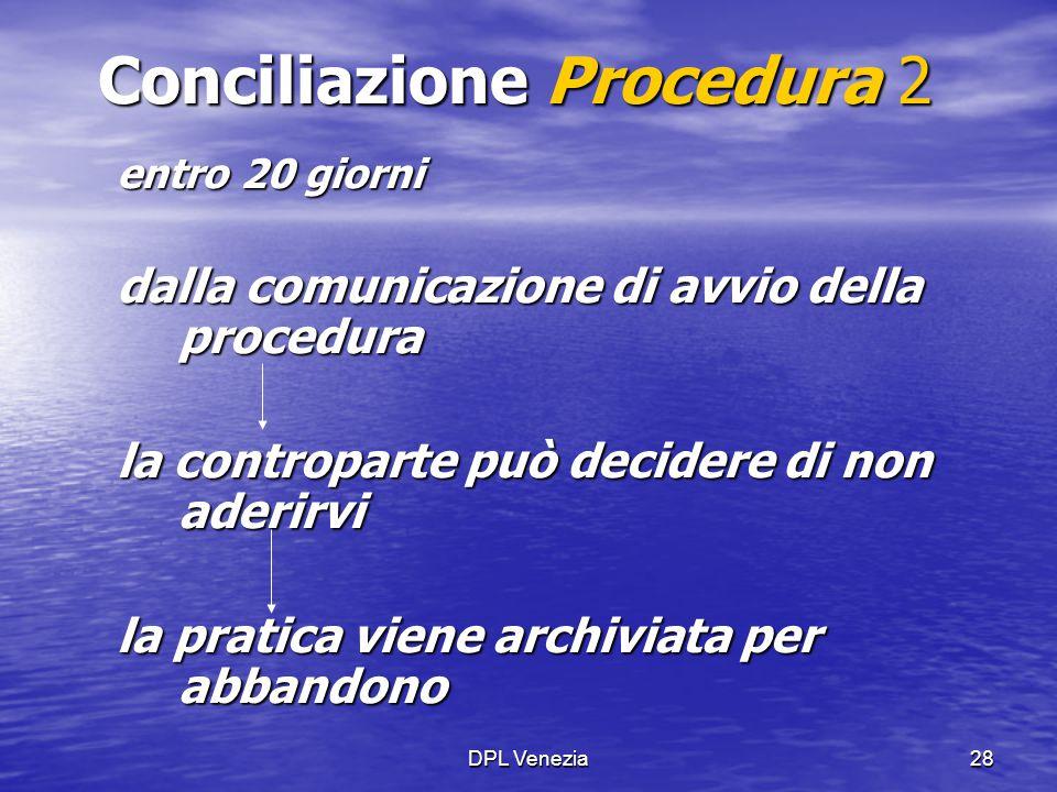 Conciliazione Procedura 2