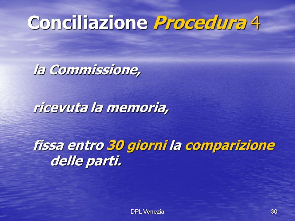 Conciliazione Procedura 4