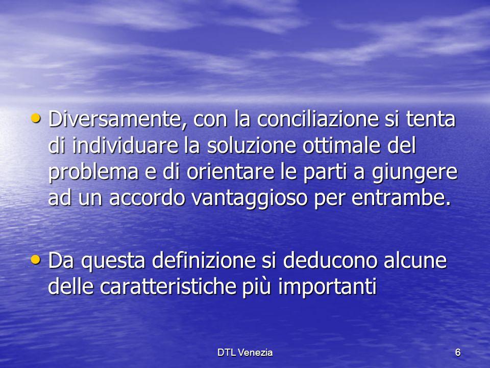 Diversamente, con la conciliazione si tenta di individuare la soluzione ottimale del problema e di orientare le parti a giungere ad un accordo vantaggioso per entrambe.