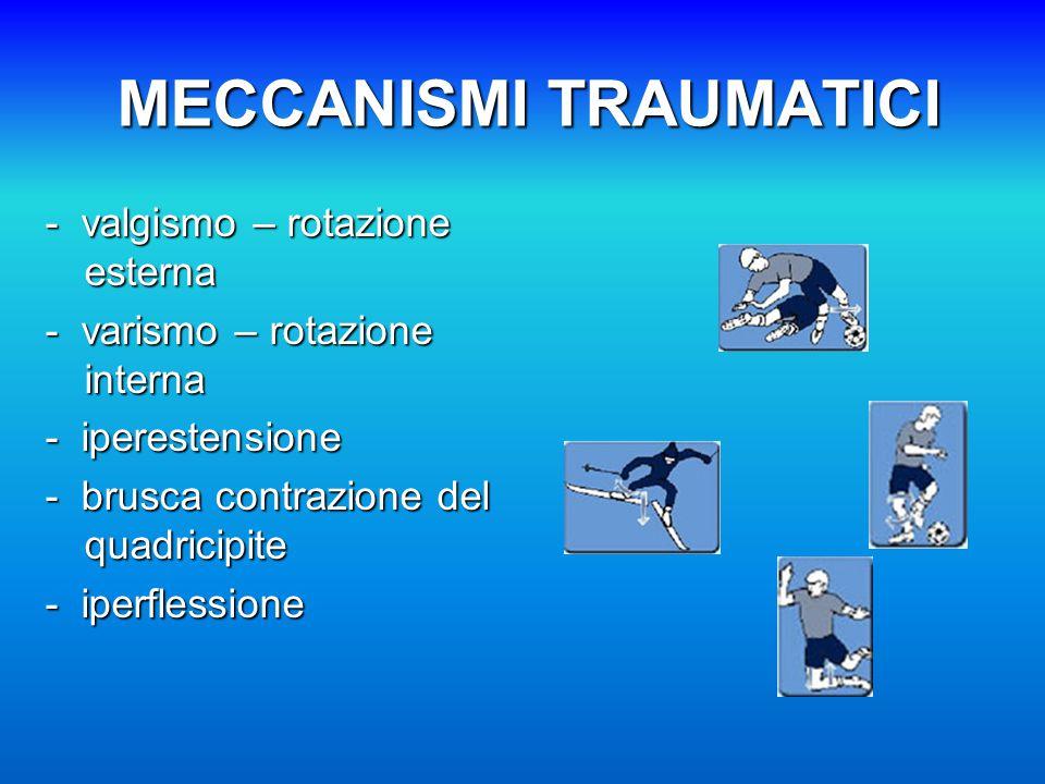 MECCANISMI TRAUMATICI