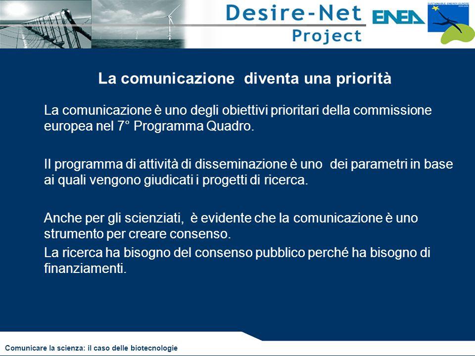 La comunicazione diventa una priorità