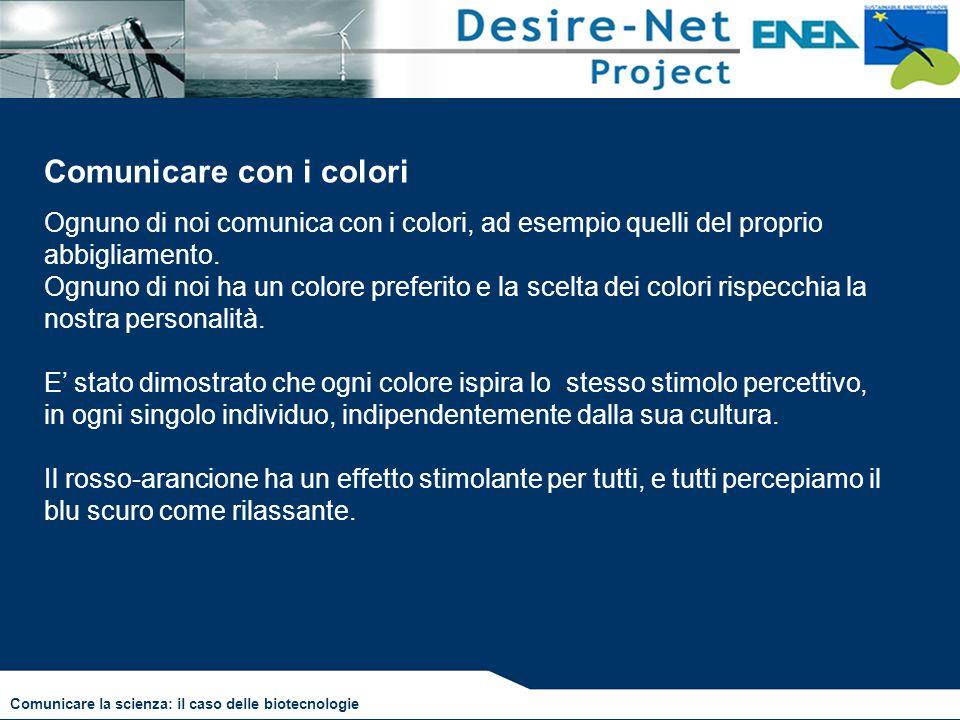 Comunicare con i colori