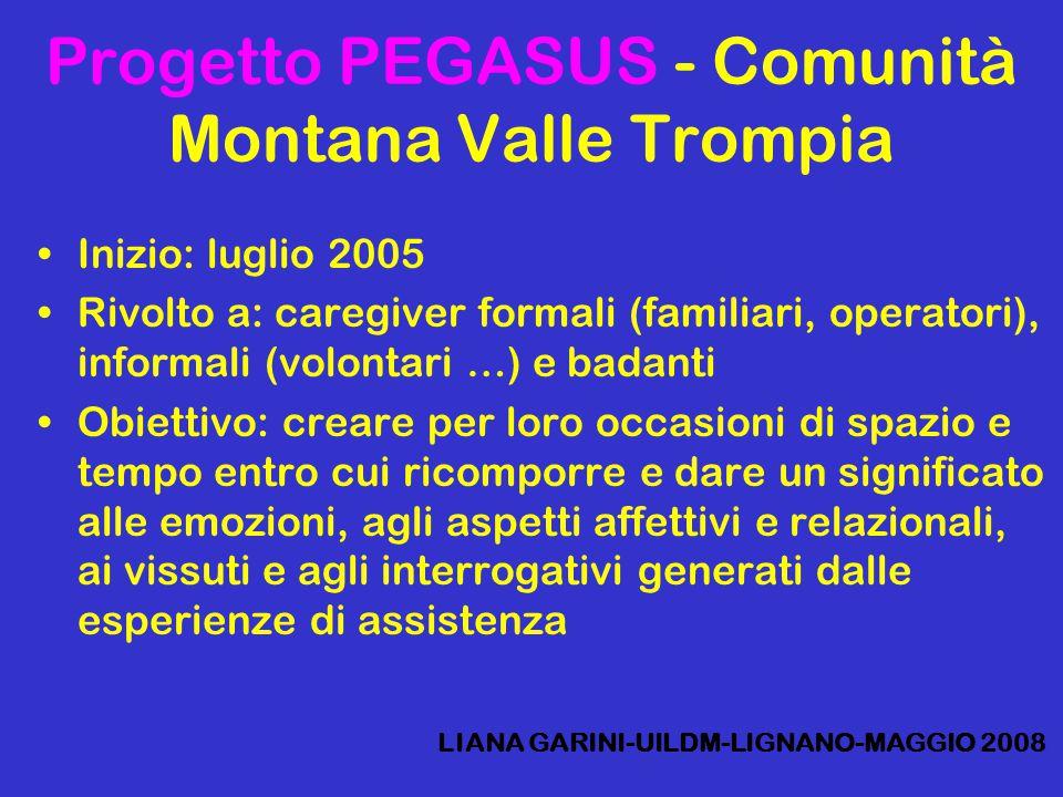 Progetto PEGASUS - Comunità Montana Valle Trompia