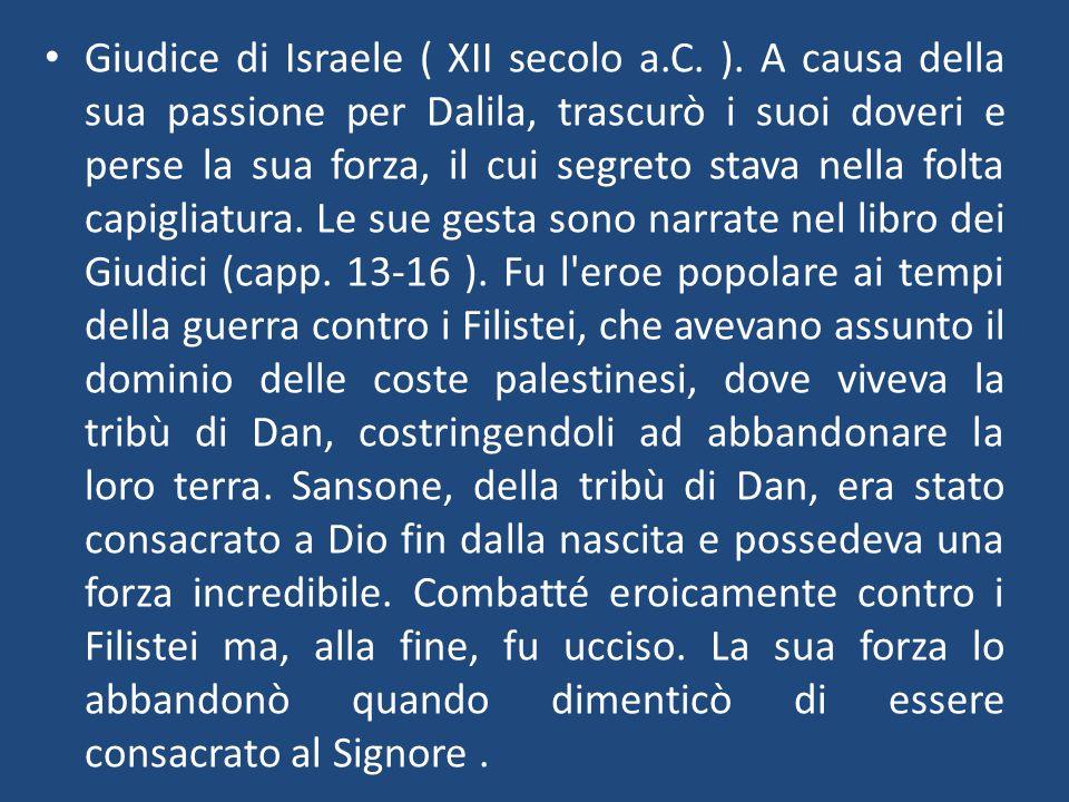 Giudice di Israele ( XII secolo a. C. )