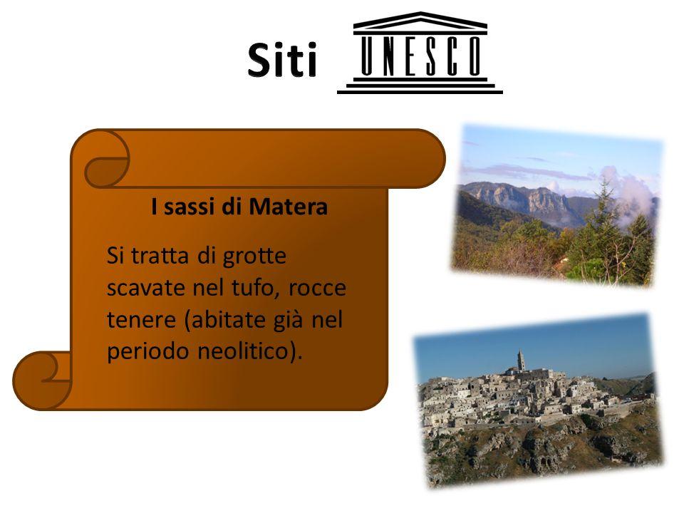 Siti I sassi di Matera.