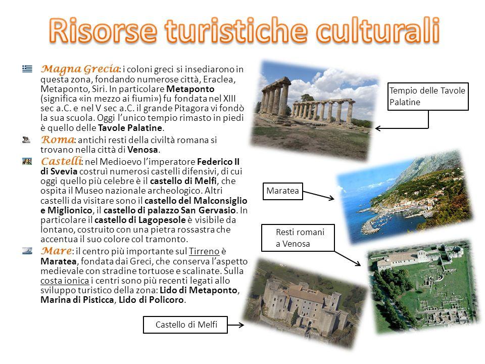 Risorse turistiche culturali