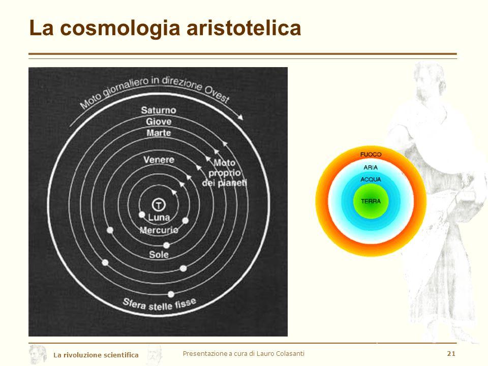La cosmologia aristotelica