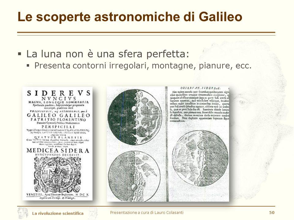 Le scoperte astronomiche di Galileo