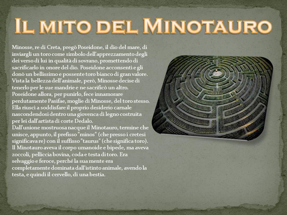 Il mito del Minotauro