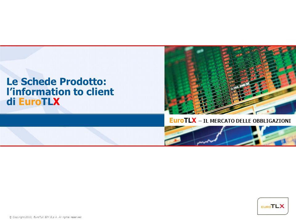 Le Schede Prodotto: l'information to client di EuroTLX