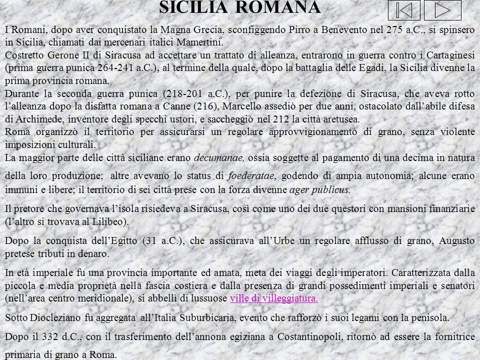 SICILIA ROMANA
