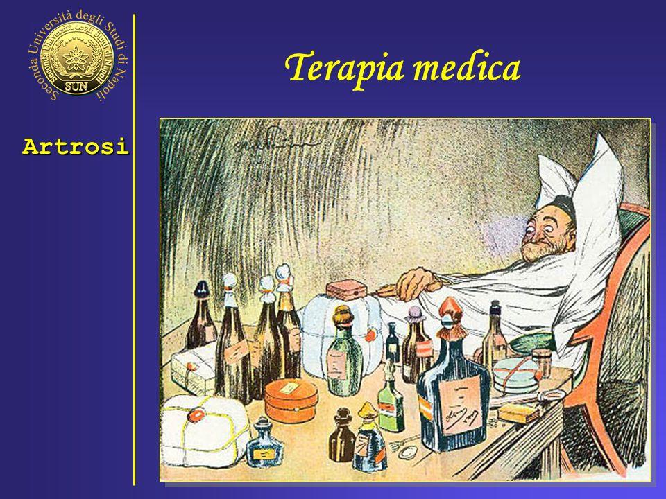 Terapia medica Artrosi