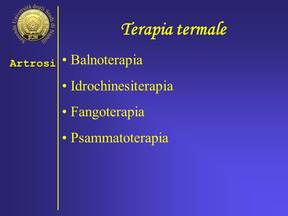 Terapia termale Balnoterapia Idrochinesiterapia Fangoterapia