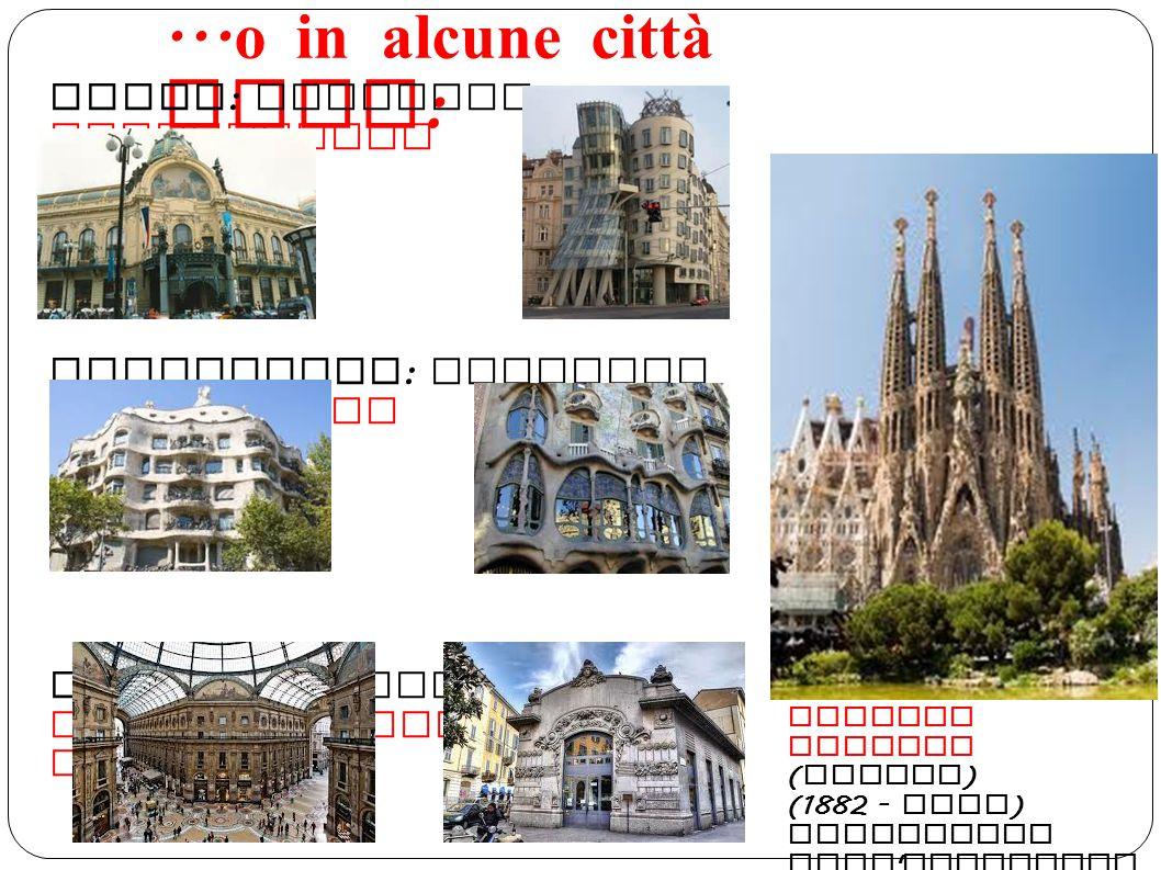 ...o in alcune città come: Praga: chiamato Jugendistil