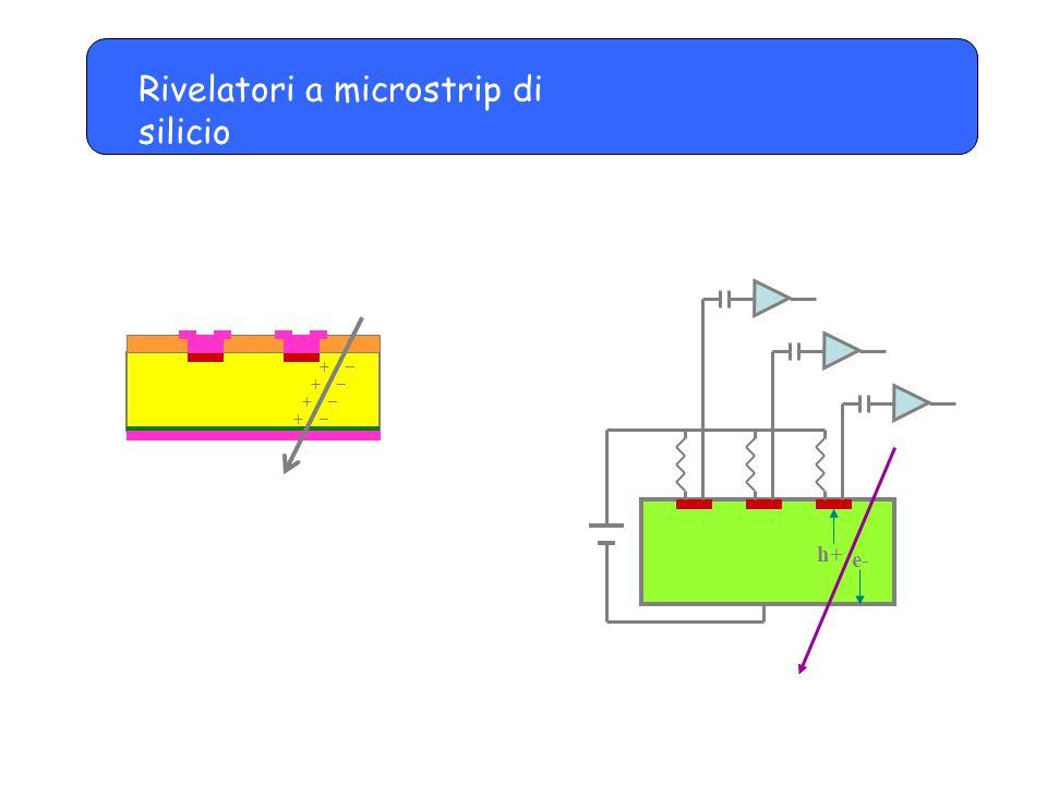 Rivelatori a microstrip di silicio