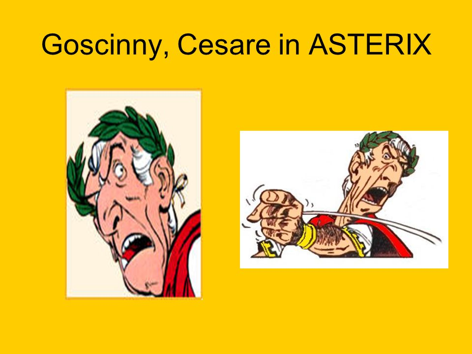 Goscinny, Cesare in ASTERIX