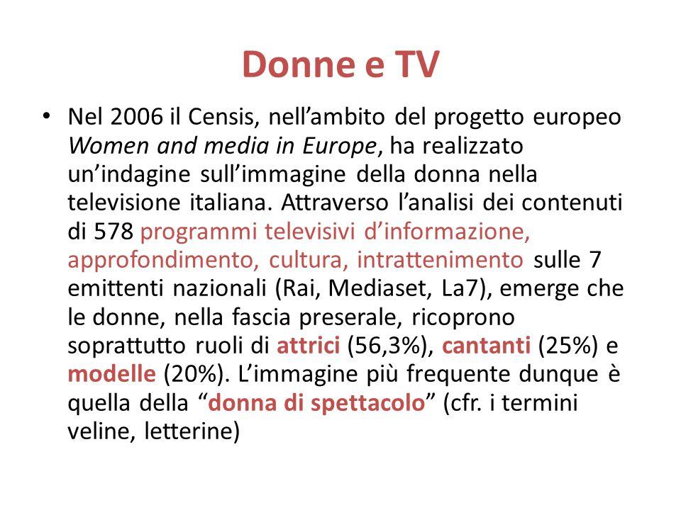 Donne e TV