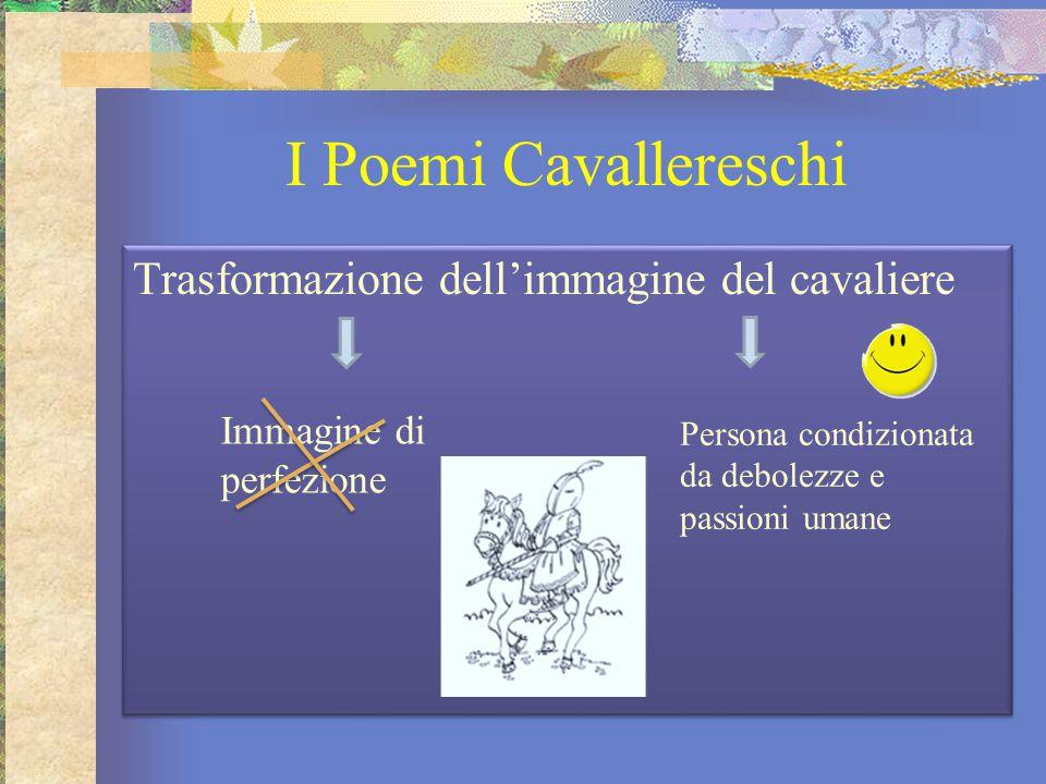 I Poemi Cavallereschi Trasformazione dell'immagine del cavaliere