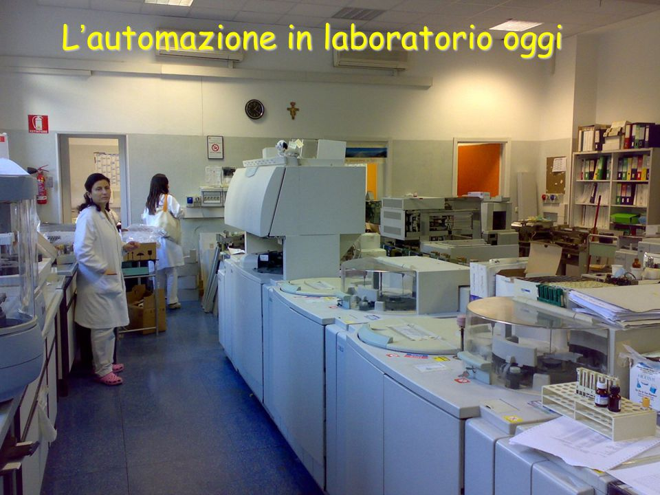 L'automazione in laboratorio oggi