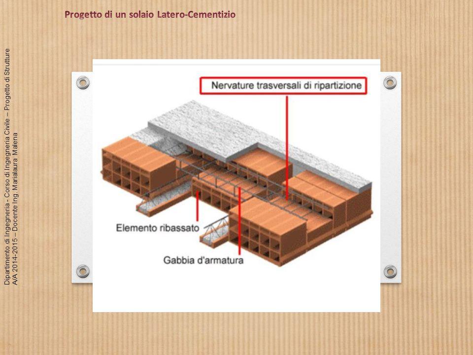Progetto di un solaio Latero-Cementizio