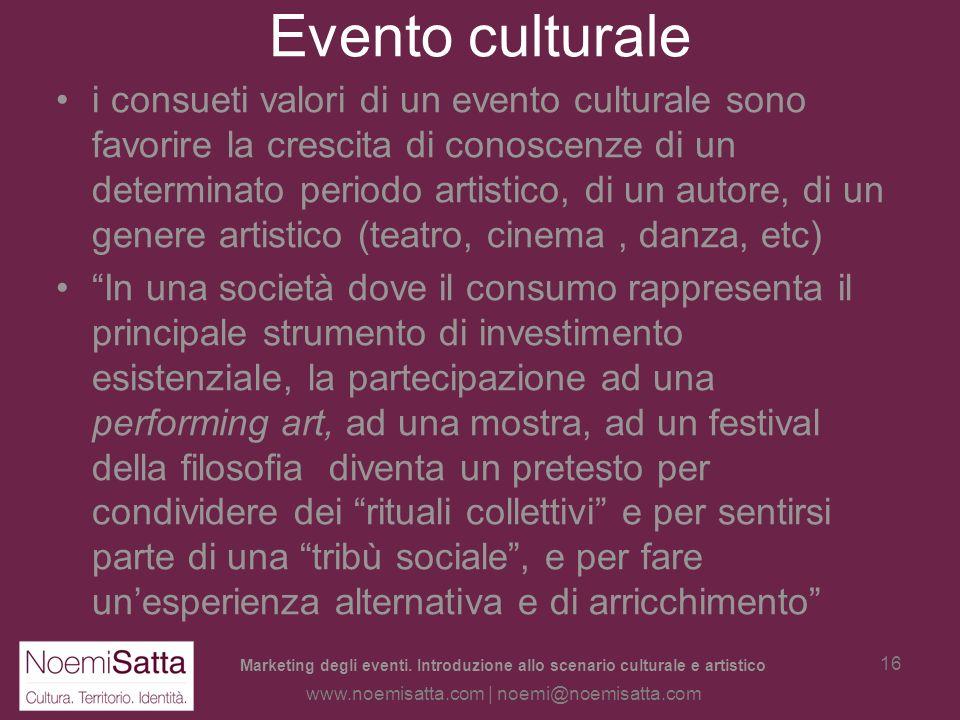 Evento culturale