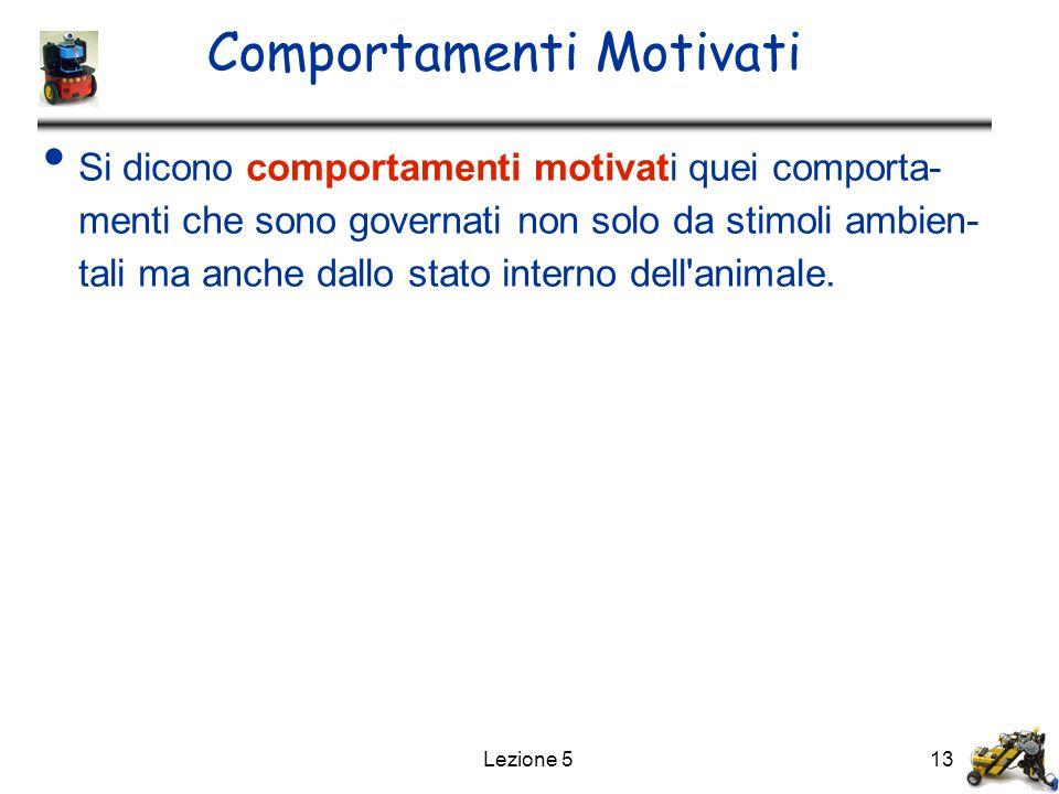 Comportamenti Motivati