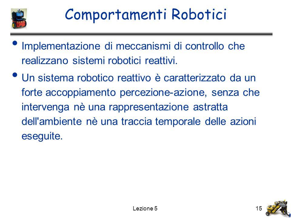Comportamenti Robotici