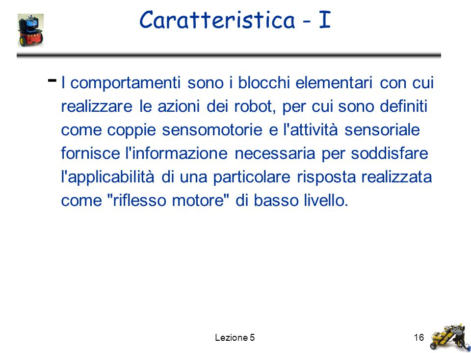 Caratteristica - I