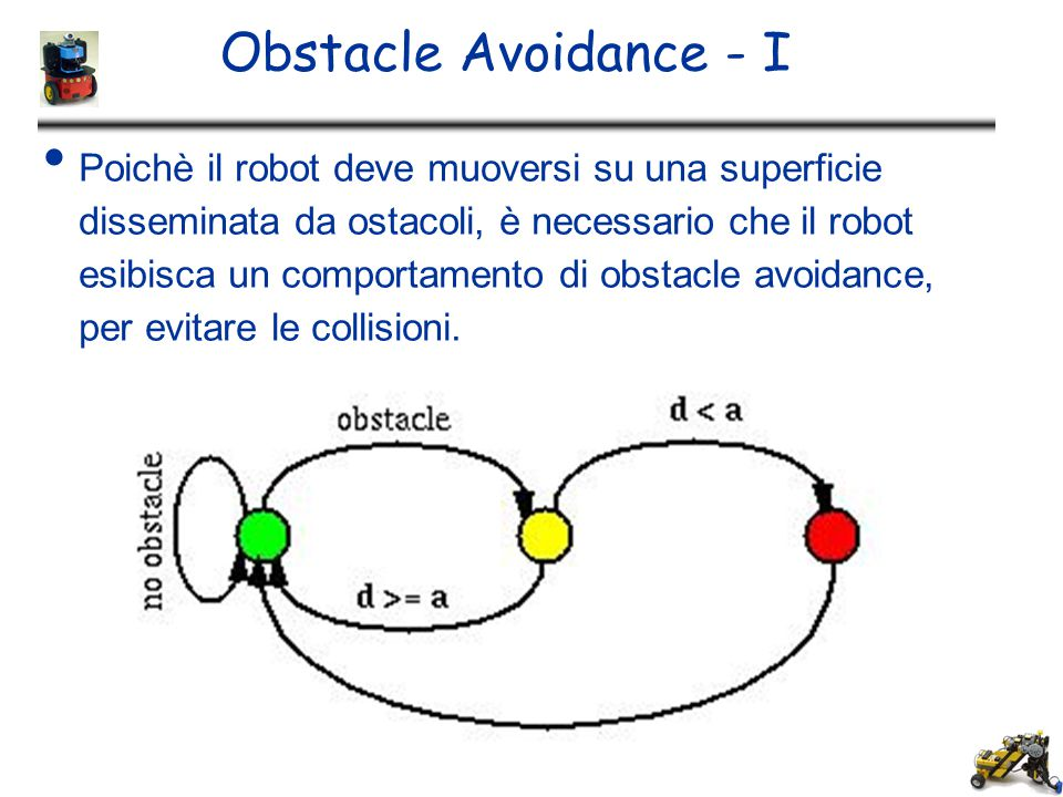 Obstacle Avoidance - I