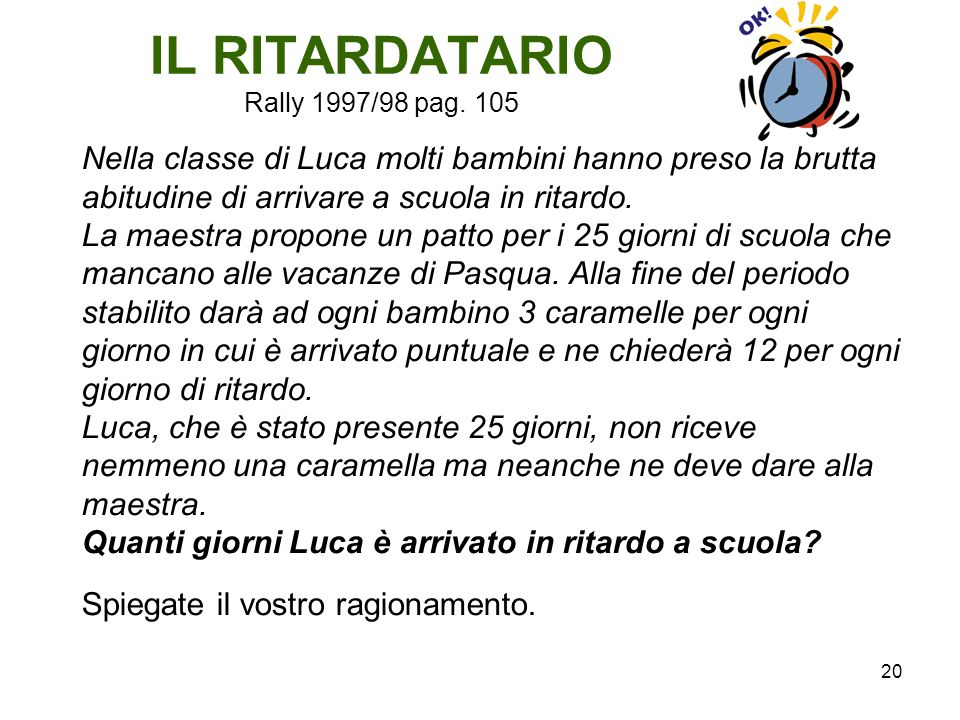 IL RITARDATARIO Rally 1997/98 pag. 105