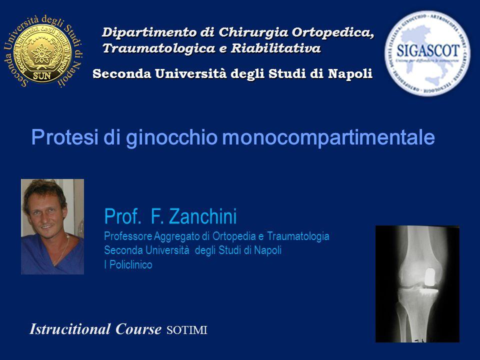 Protesi di ginocchio monocompartimentale