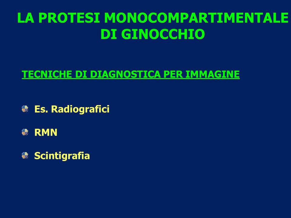 LA PROTESI MONOCOMPARTIMENTALE DI GINOCCHIO