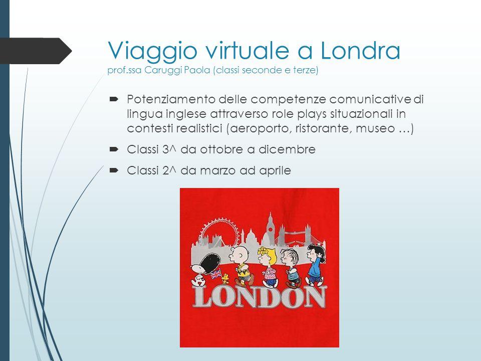 Viaggio virtuale a Londra prof