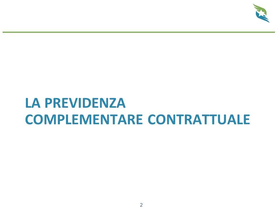 La previdenza complementare contrattuale